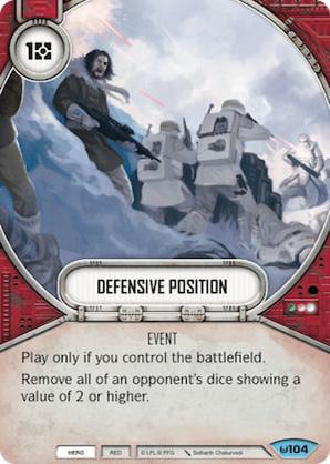 Posición defensiva