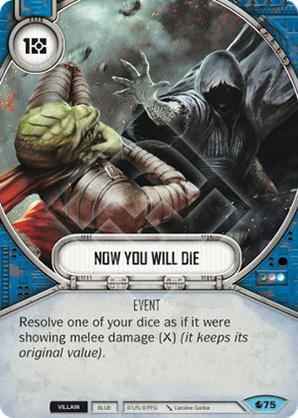 Y ahora morirás