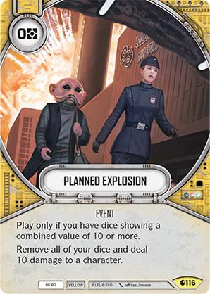 Explosión planificada