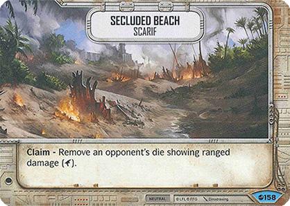 Playa apartada