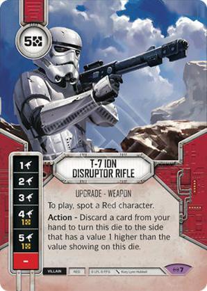 Fusil disrupto iónico T-7