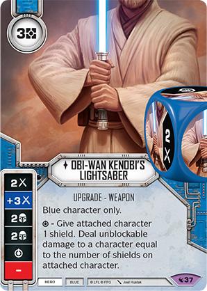 Sable de luz de Obi-Wan Kenobi