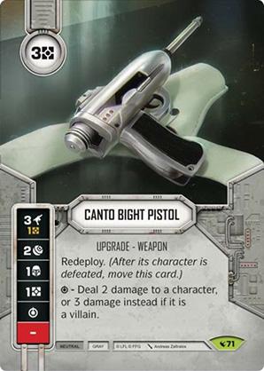 Pistola de Canto Bight