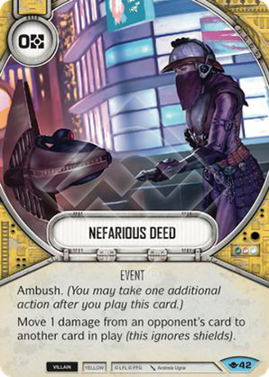 Nefarious Deed