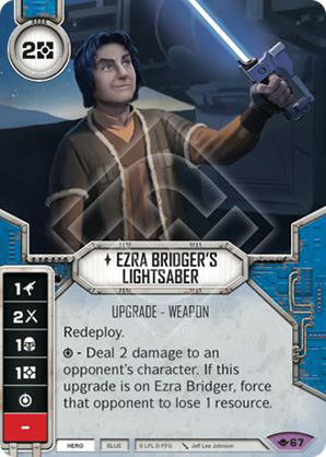Ezra Bridger's Lightsaber