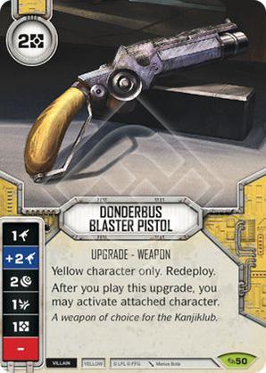 Donderbus Blaster Pistol
