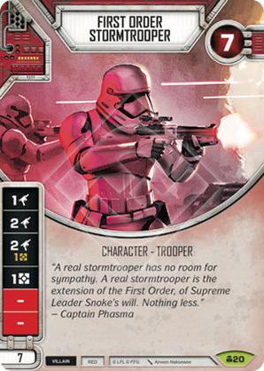 Soldado de asalto de la Primera Orden