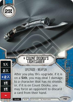 Count Dooku's Lightsaber
