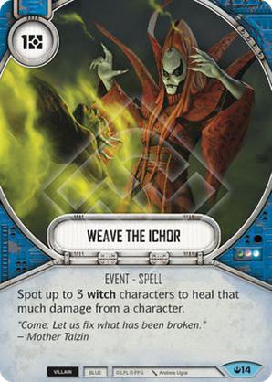 Weave The Ichor