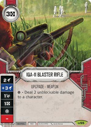 Fusil Bláster IQA-11