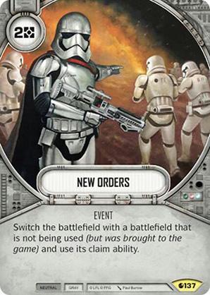 Nuevas órdenes