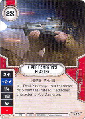 Bláster de Poe Dameron