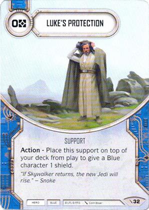 La protección de Luke