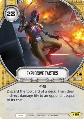Tácticas explosivas