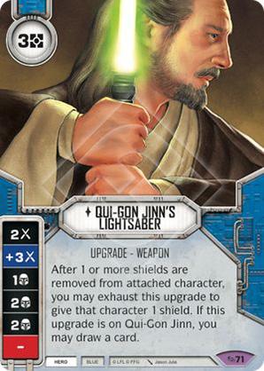 Qui-Gon Jinn's Lightsaber