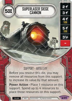 Superlaser Siege Cannon