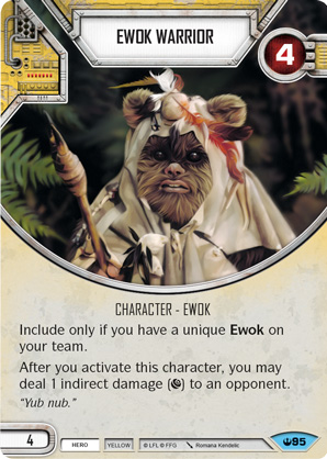 Ewok Warrior