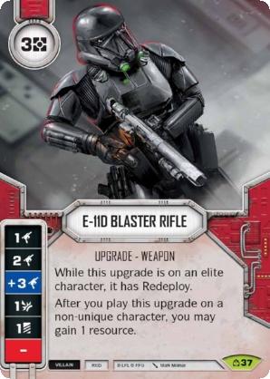 E-11D Blaster Rifle