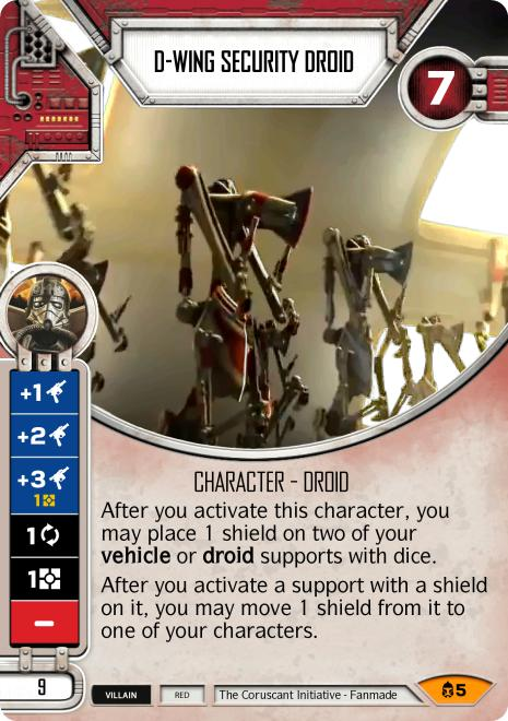 D-wing Security Droid